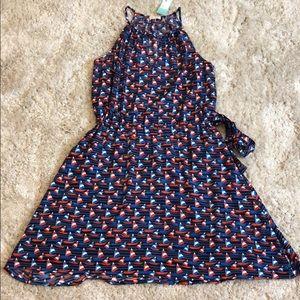 Stitch Fix Pixley Tammi Sailboat Print Dress NWT
